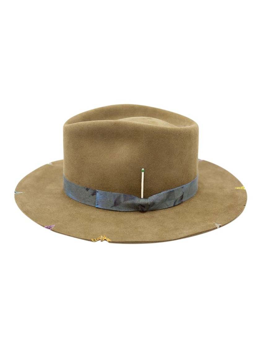 Nick Fouquet WHISKEY SPRINGS FELT HAT