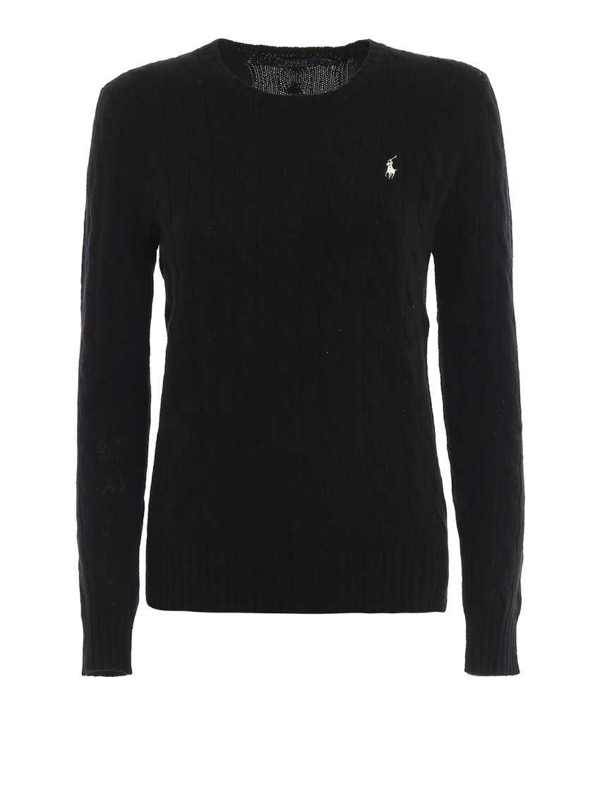 Polo Ralph Lauren Tops CABLE KNIT MERINO AND CASHMERE SWEATER
