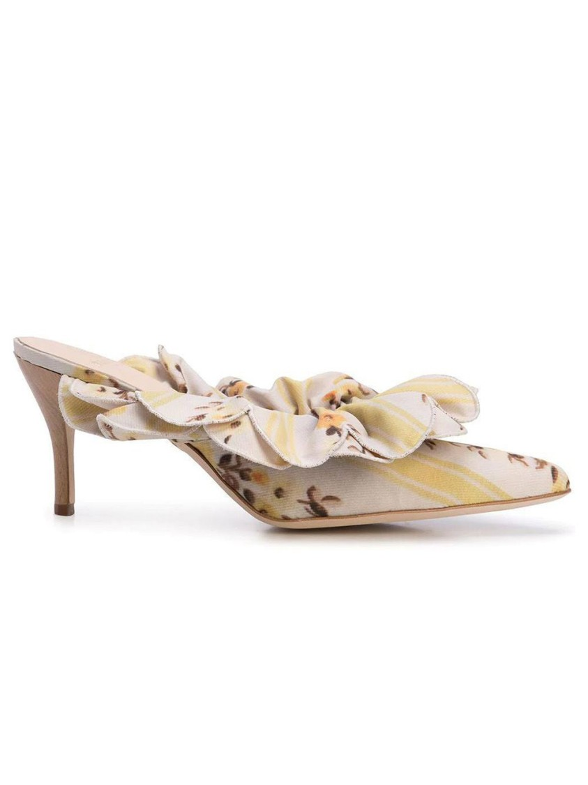 Brother Vellies FRILLED STELL MULES
