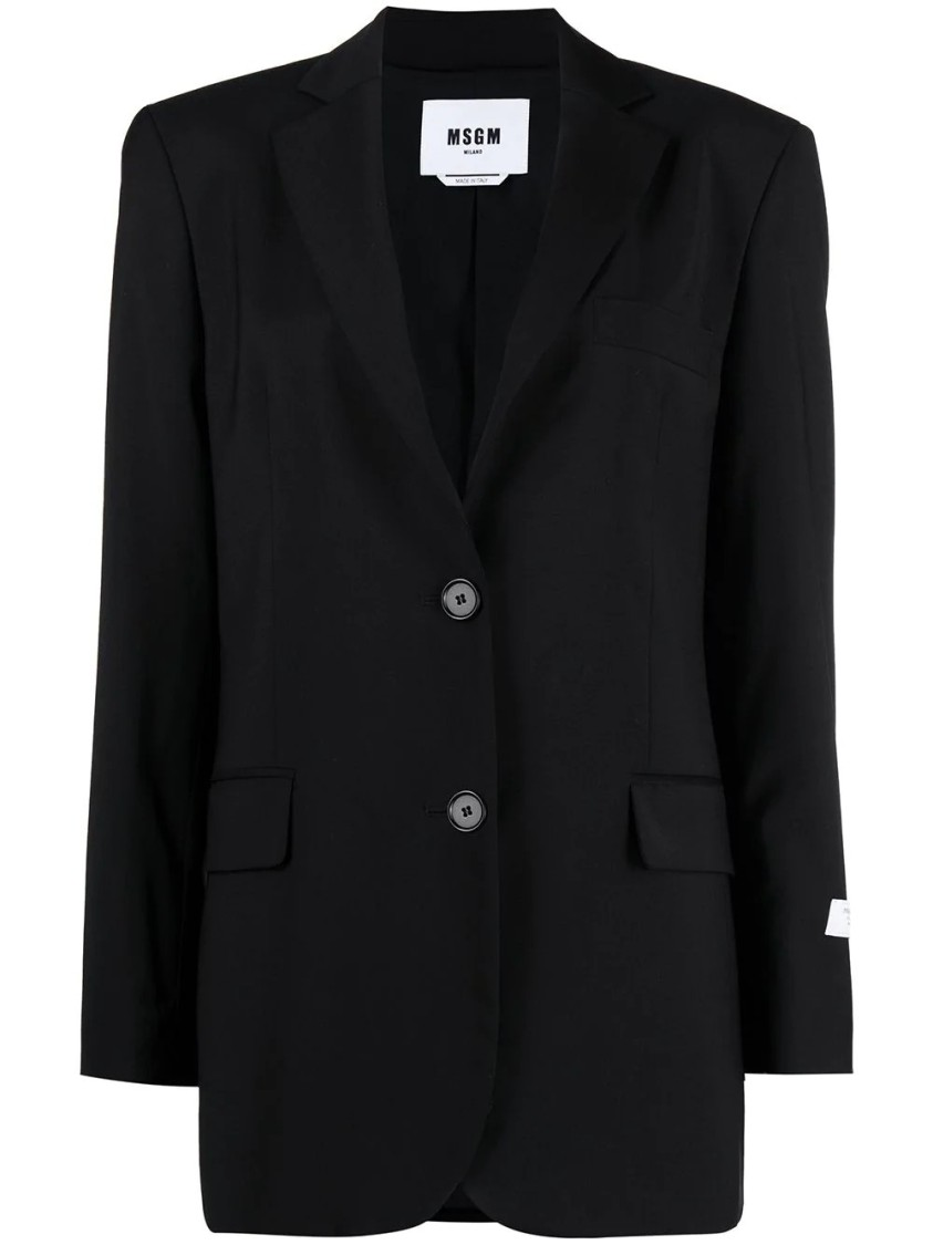 Msgm FITTED TAILORED BLAZER