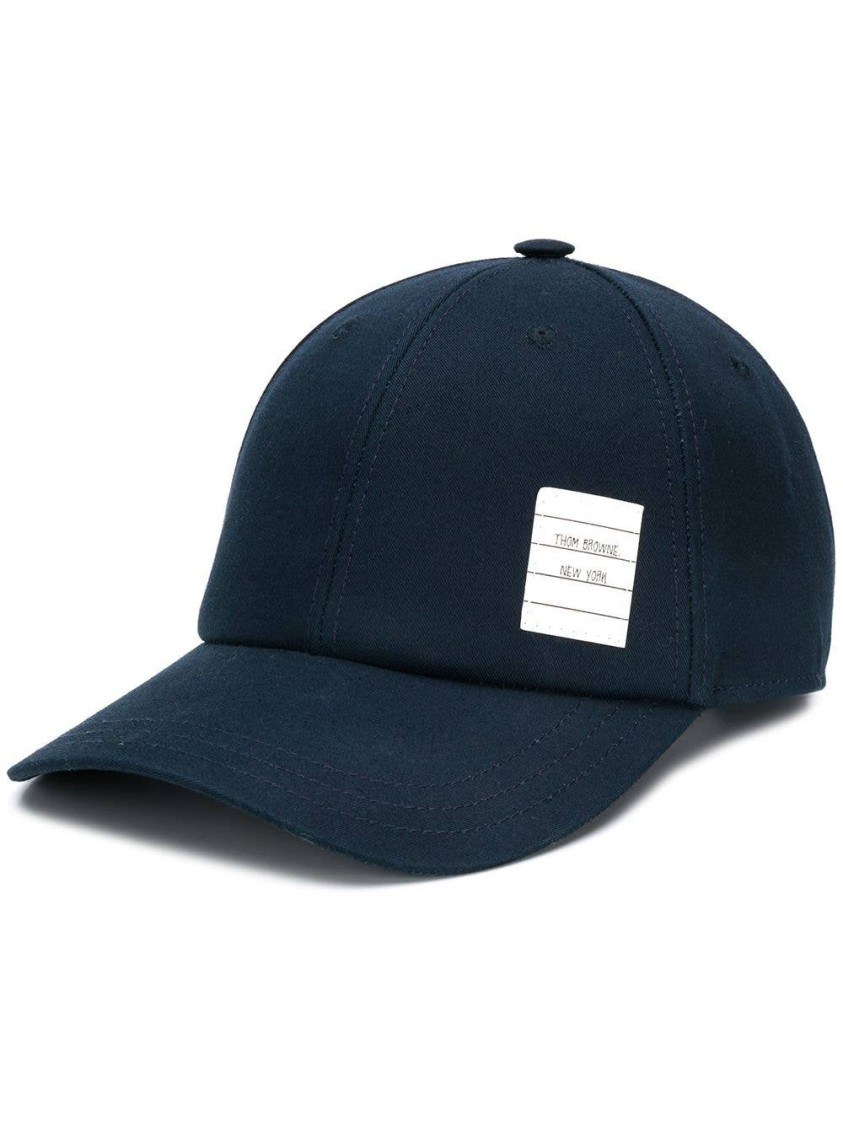 Thom Browne Lingerie CLASSIC 6-PANEL BASEBALL CAP IN COTTON TWILL