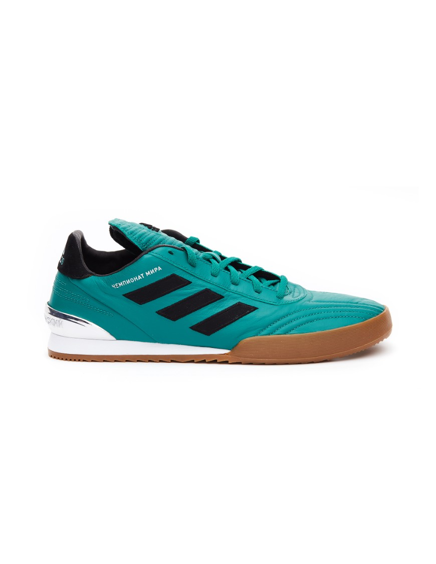 Copa Super' Green Leather Sneakers