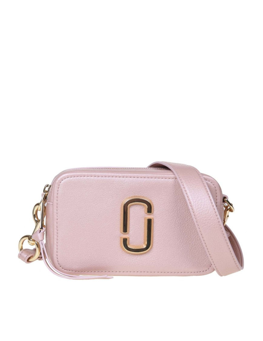 Marc Jacobs Pink Leather Shoulder Bag In Rosa Multi
