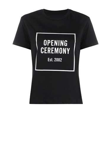 Opening Ceremony Cottons T-SHIRT BOX LOGO BLACK