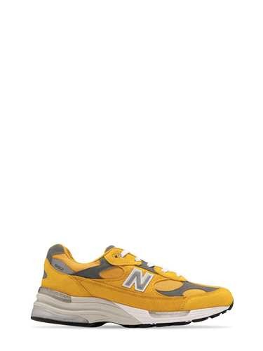 New Balance LOW '992' YELLOW SNEAKERS