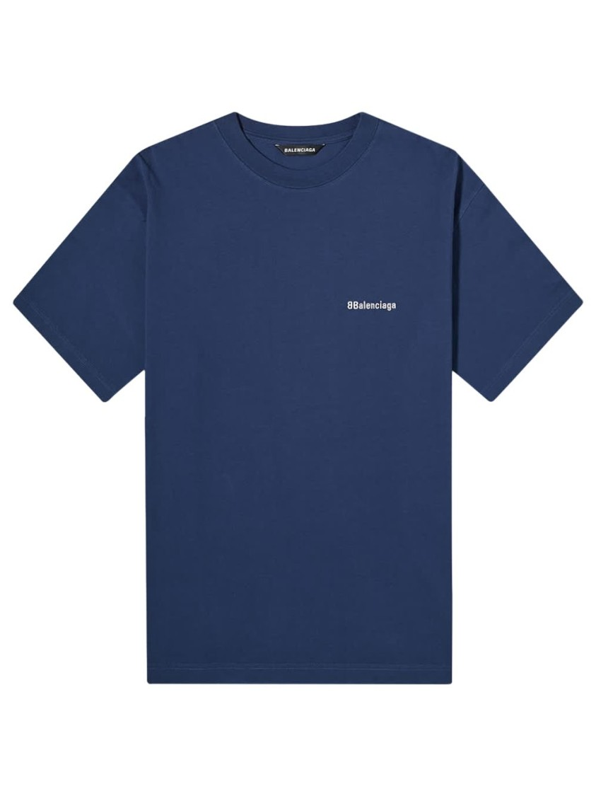 Balenciaga Medium Fit Cotton T-Shirt