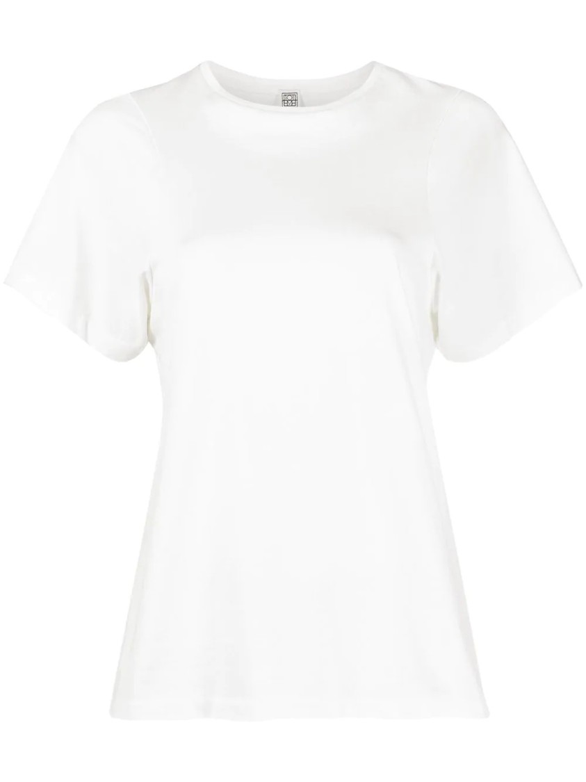 TOTÊME Cottons CURVED SEAM T-SHIRT