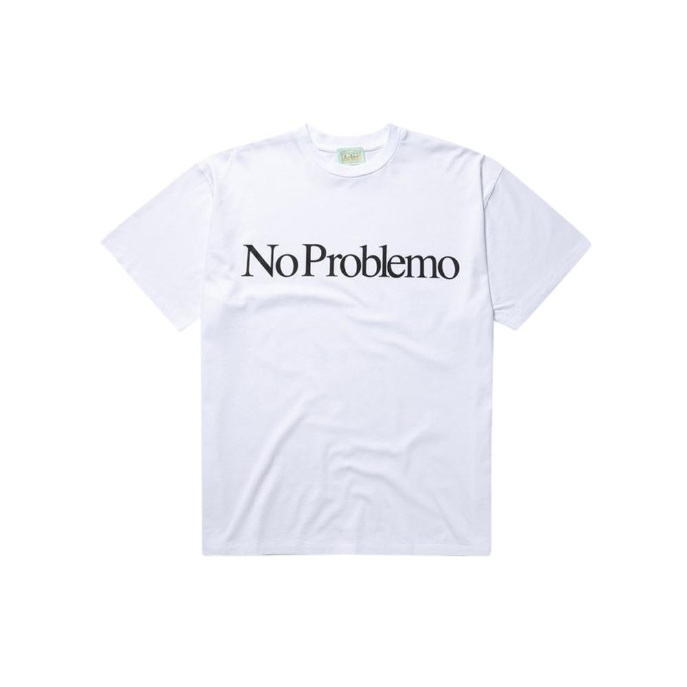Aries NO PROBLEMO SS TEE (WHITE)