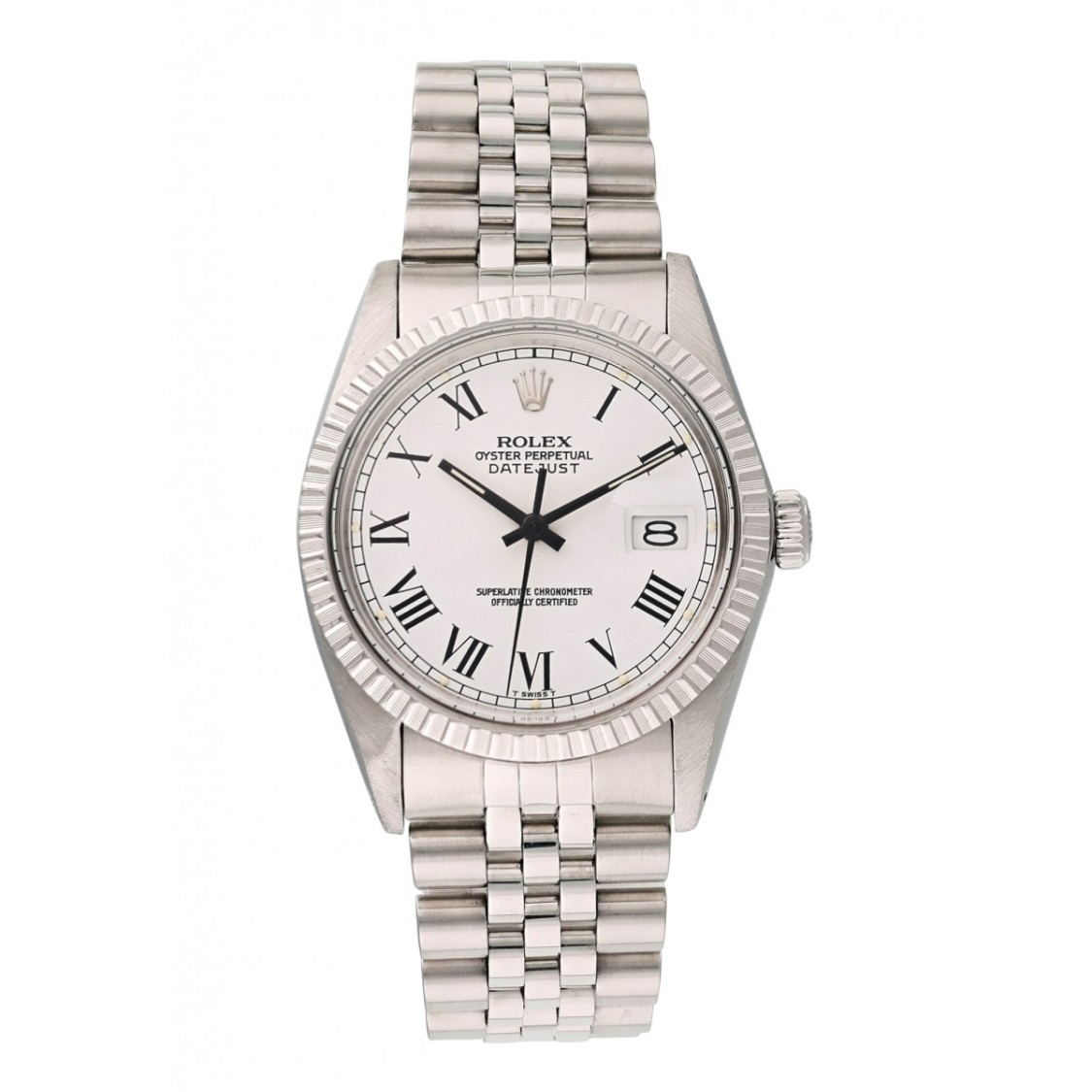 Rolex Lingerie DATEJUST 16030 BUCKLEY DIAL MENS WATCH
