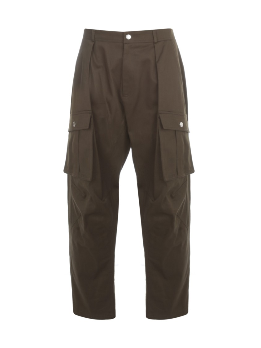 Les Hommes LOW CROTCH CASUAL PANTS W/ POCKETS