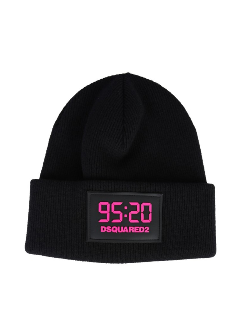 Dsquared2 Hats BLACK WOOL HAT