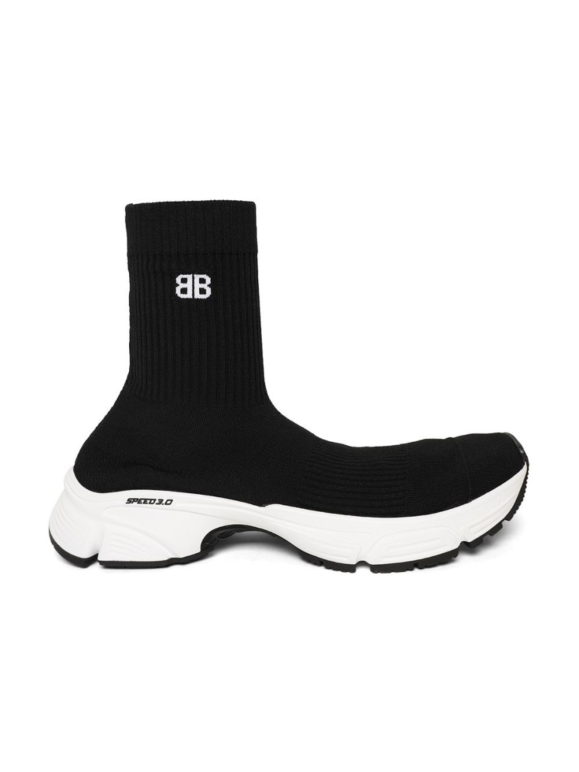 Balenciaga Sneakers SPEED 3.0 SNEAKERS, BLACK AND WHITE