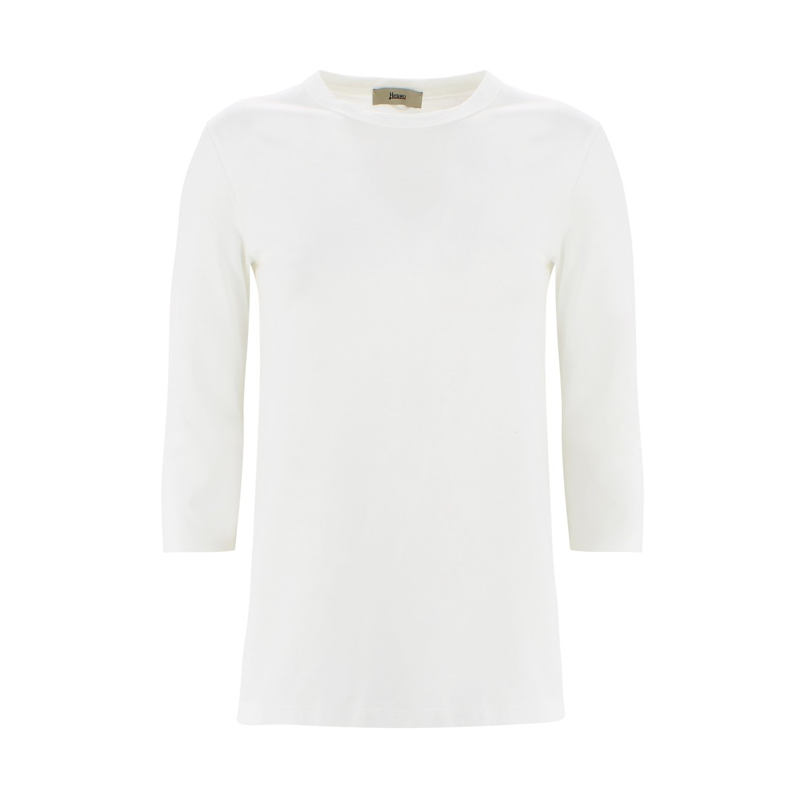 Herno Cottons THREE-QUARTER SLEEVE T-SHIRT