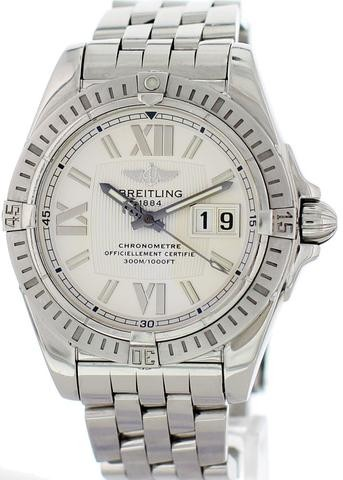 BREITLING GALACTIC 41 A49350 MENS WATCH