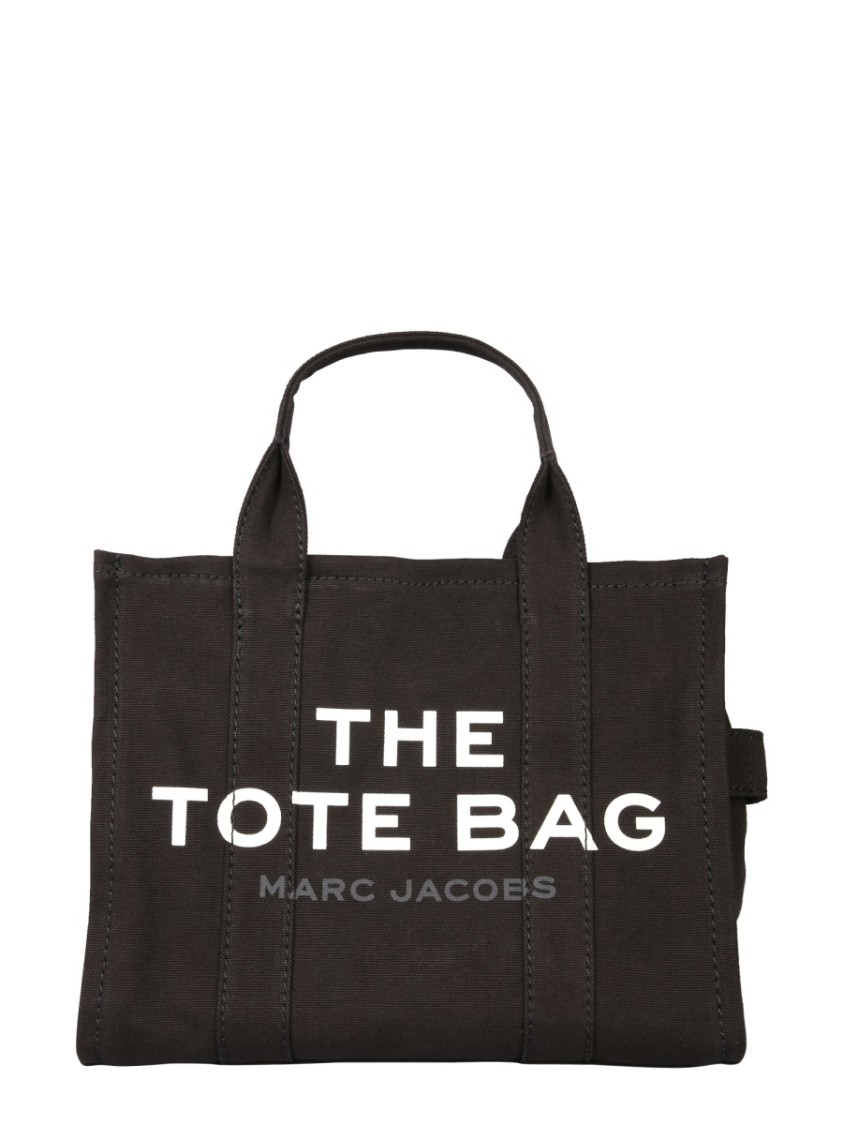 Marc Jacobs THE TRAVELER BLACK FABRIC TOTE