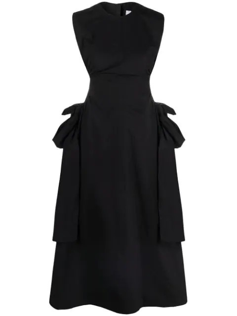 Msgm Clothing CUT-OUT DETAIL SLEEVELESS DRESS