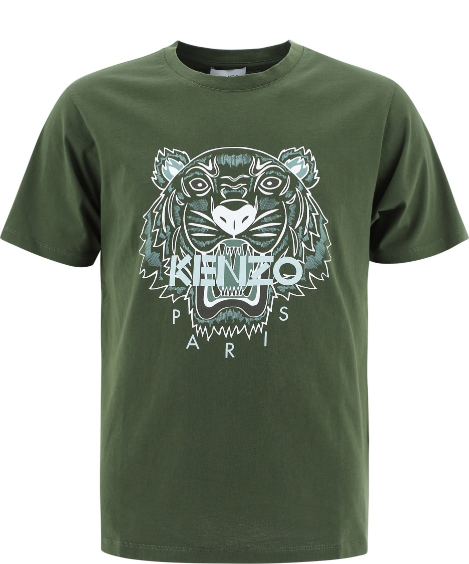 Kenzo GREEN COTTON T-SHIRT