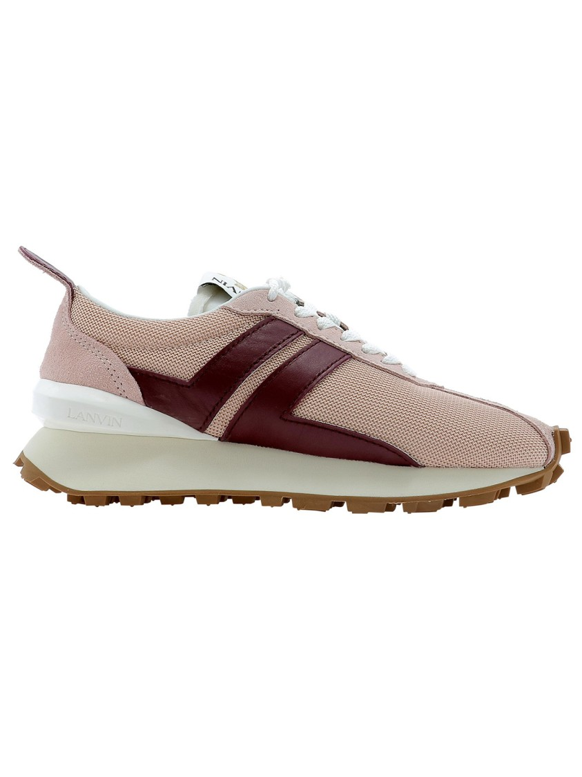 Lanvin PINK POLYESTER SNEAKERS