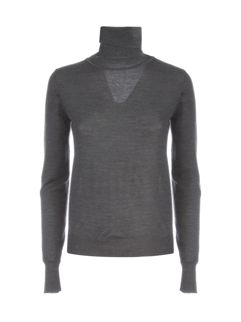 Nuur HIGH NECK 100% MERINO WOOL SWEATER