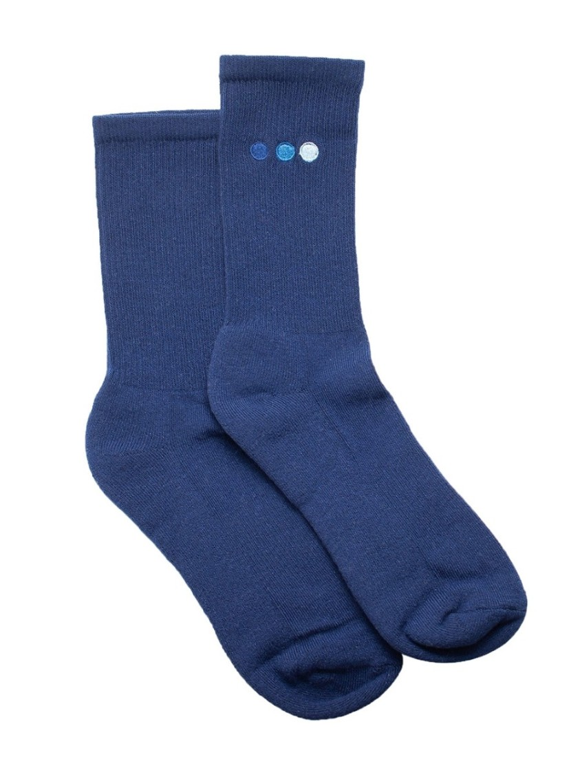 Blu Scarpa Navy Blue High Socks