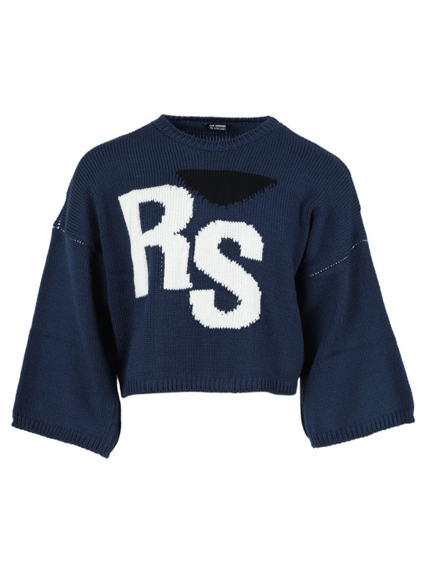 Raf Simons Wools OVERSIZED RS WOOL SWEATER