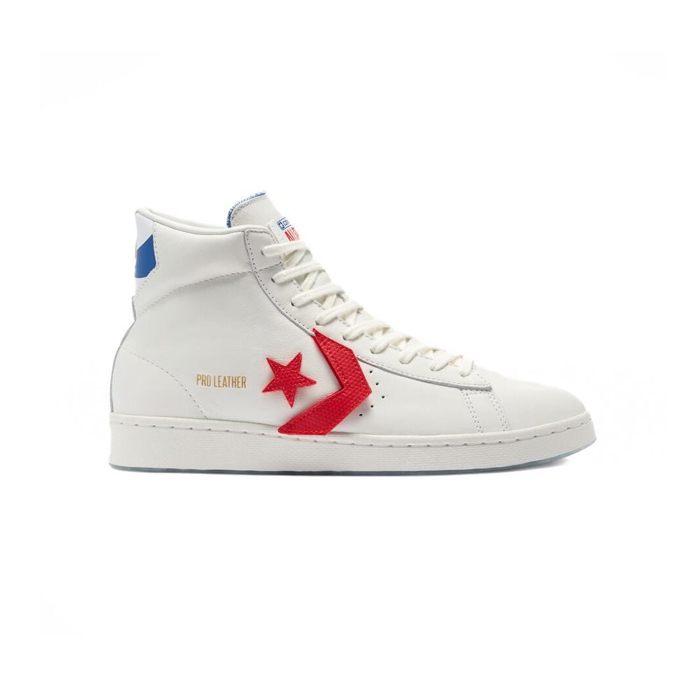 Converse Leathers PRO LEATHER GOLD STANDARD HI (VINTAGE WHITE/UNIVERSITY RED)