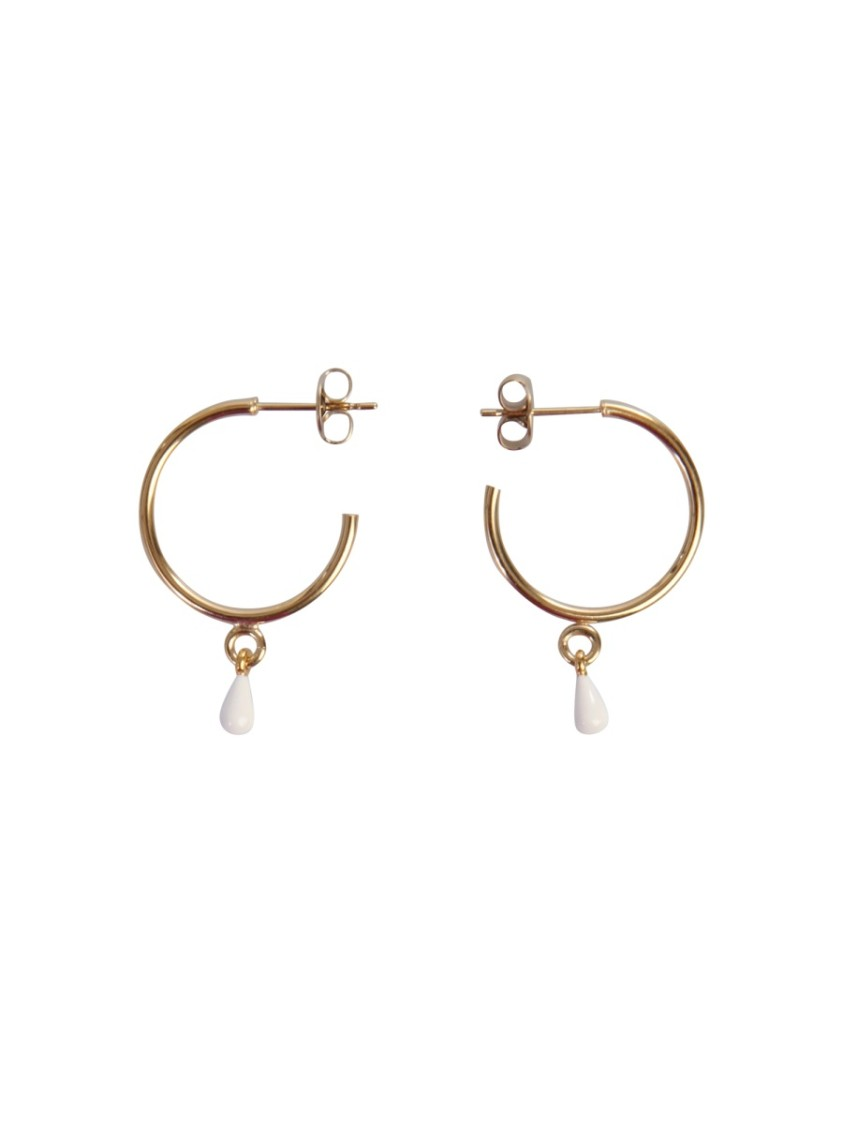 Isabel Marant CASABLANCA GOLD BRASS EARRINGS