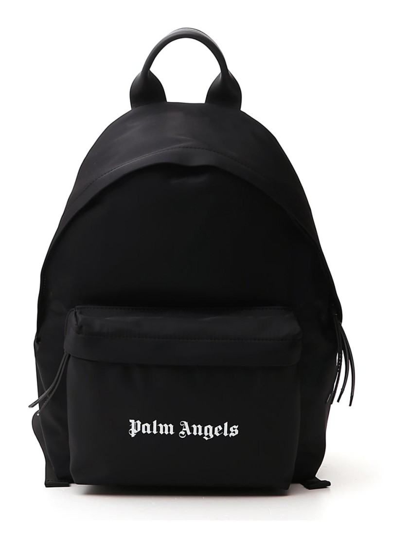 Palm Angels BLACK POLYESTER BACKPACK