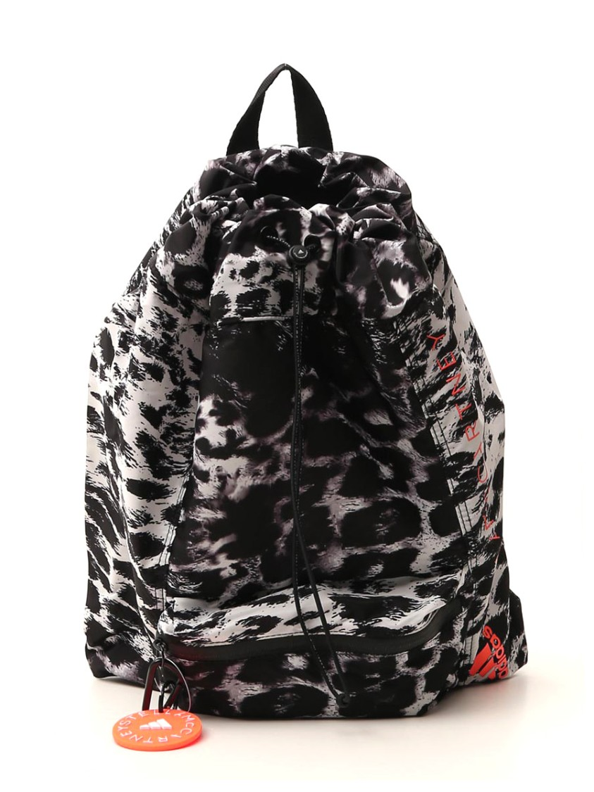 ADIDAS BY STELLA MCCARTNEY LEOPARD POLYESTER BACKPACK