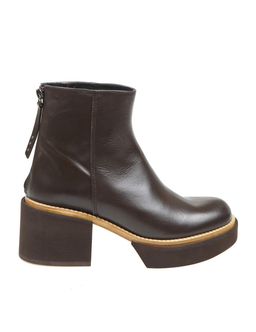 Paloma Barceló Ankle Boot Deniz In Blackeather