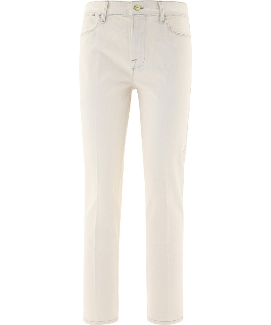 Frame BEIGE COTTON JEANS