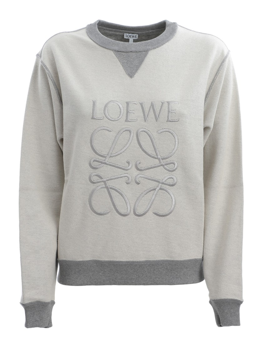Loewe GREY COTTON SWEATER