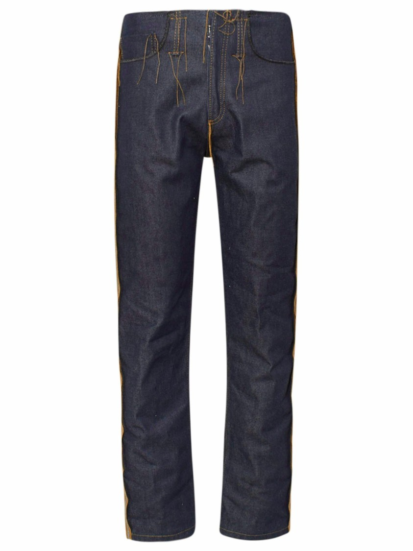 Maison Margiela Cottons BLUE COTTON JEANS