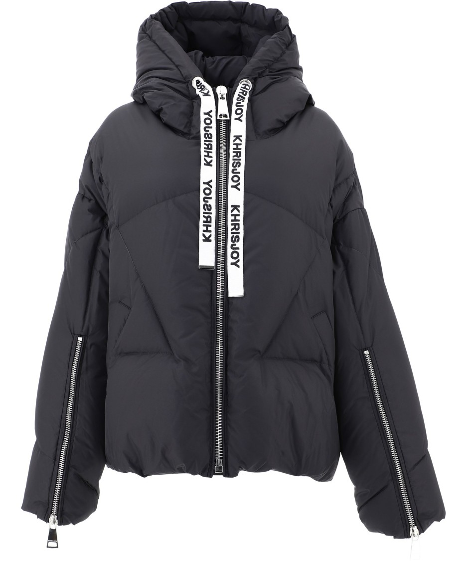 Khrisjoy Downs BLACK POLYESTER DOWN JACKET