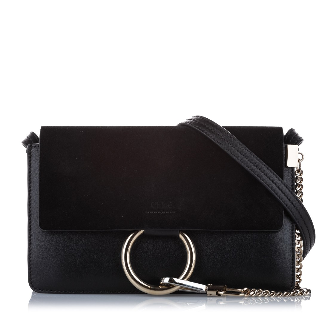 Chloé FAYE LEATHER CROSSBODY BAG