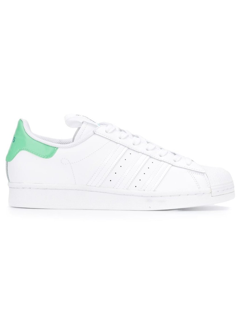 Adidas Originals SUPERSTAR WHITE LEATHER SNEAKERS