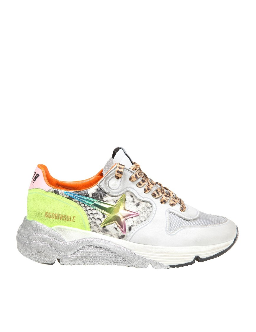 Golden Goose Sole Running Sneakers In Leather