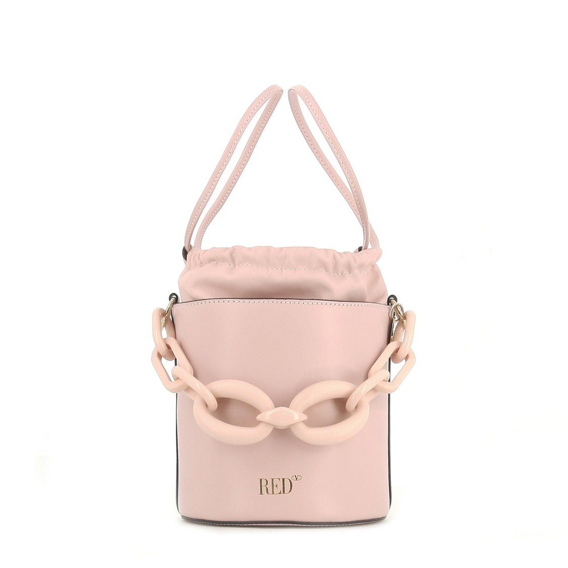 Red Valentino Leathers BUCKET BAG