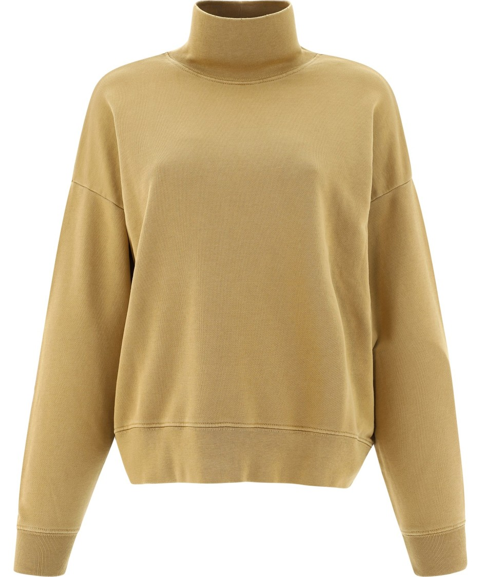 Frame Cottons BEIGE COTTON SWEATER