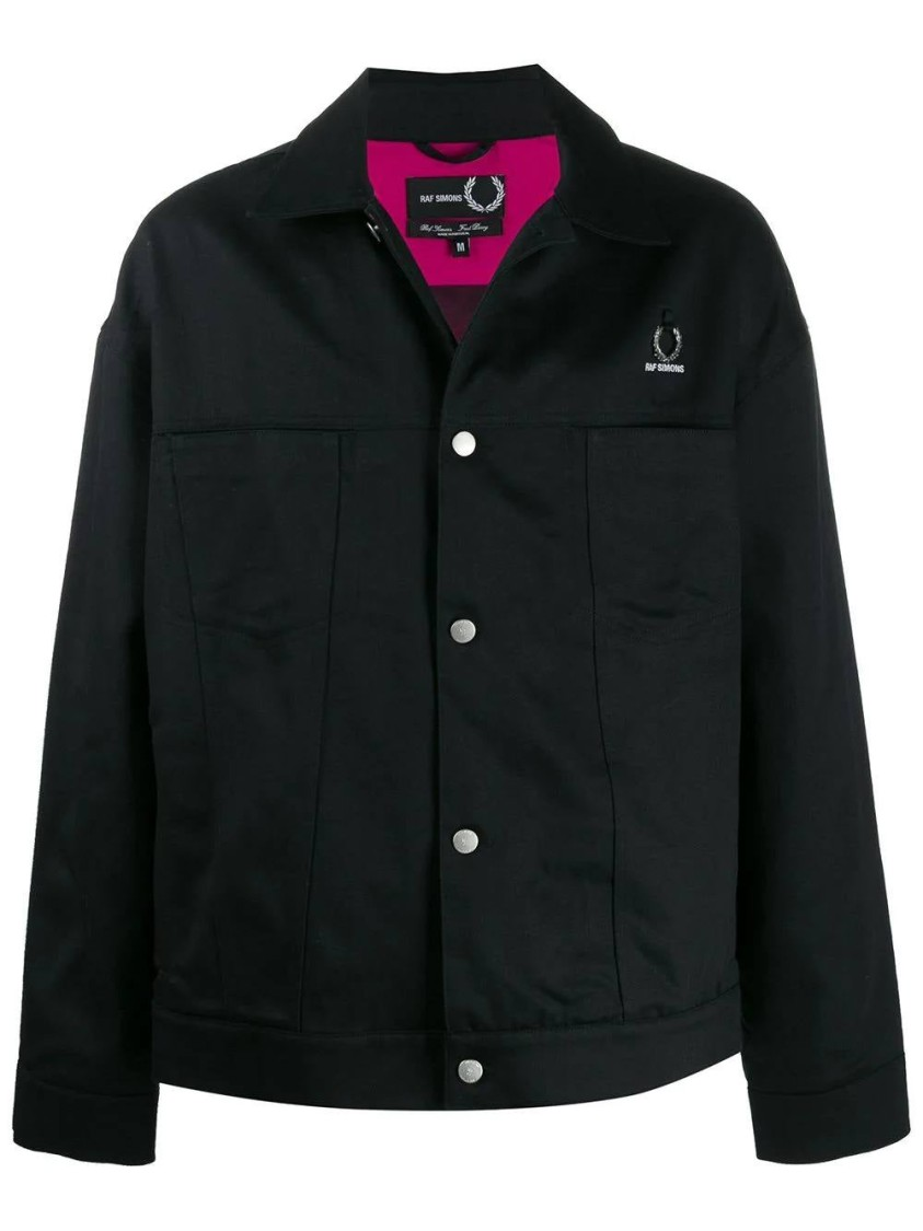 Raf Simons Black Men's  X Fred Perry Denim Jacket