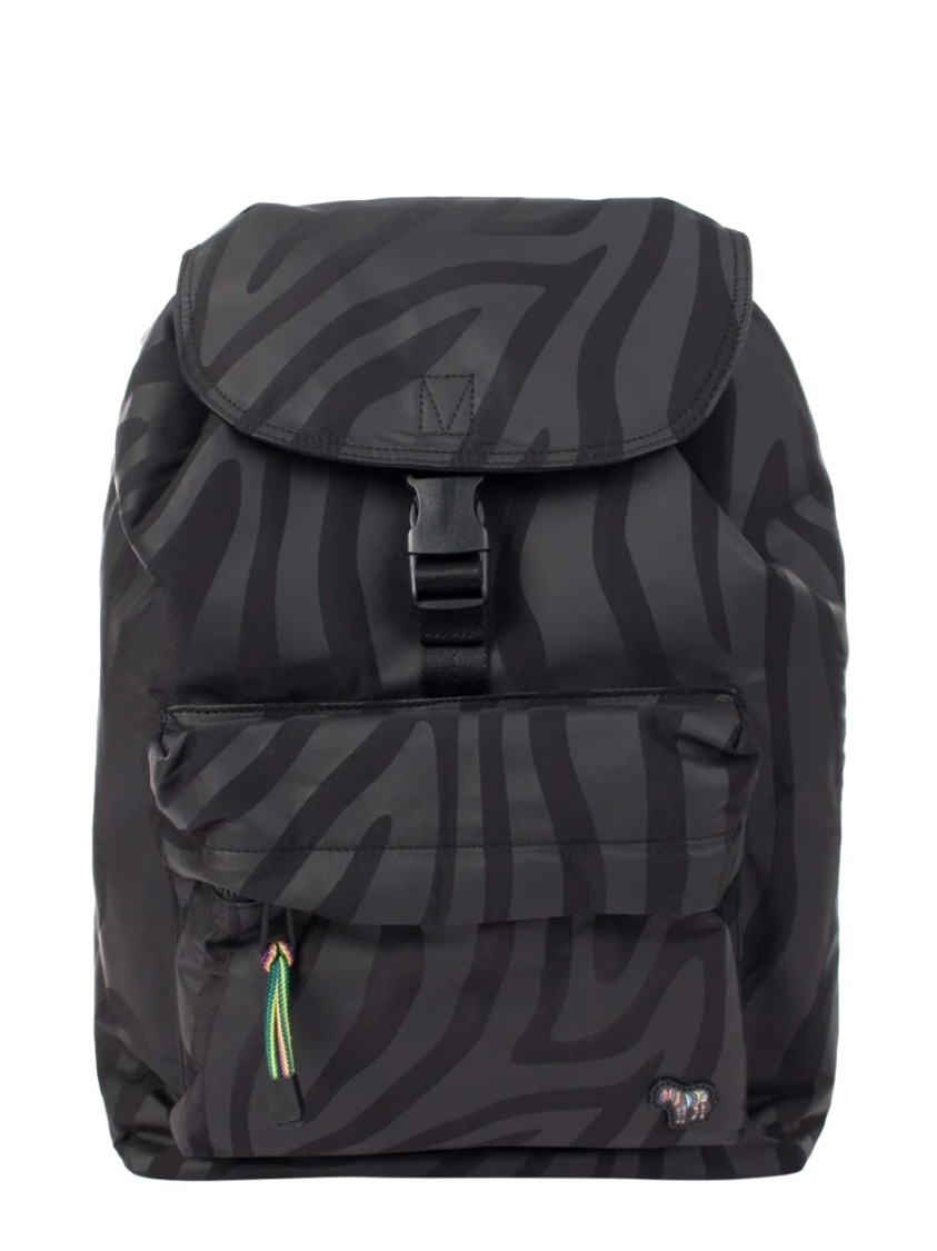 Ps By Paul Smith BLACK POLYESTER BACKPACK