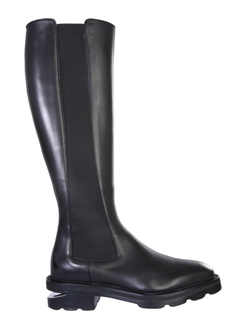Alexander Wang Andy Black Leather Boots