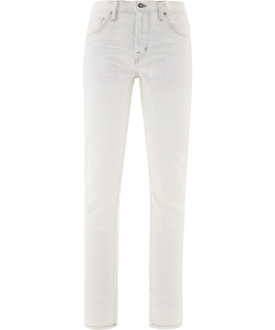 Tom Ford WHITE COTTON JEANS