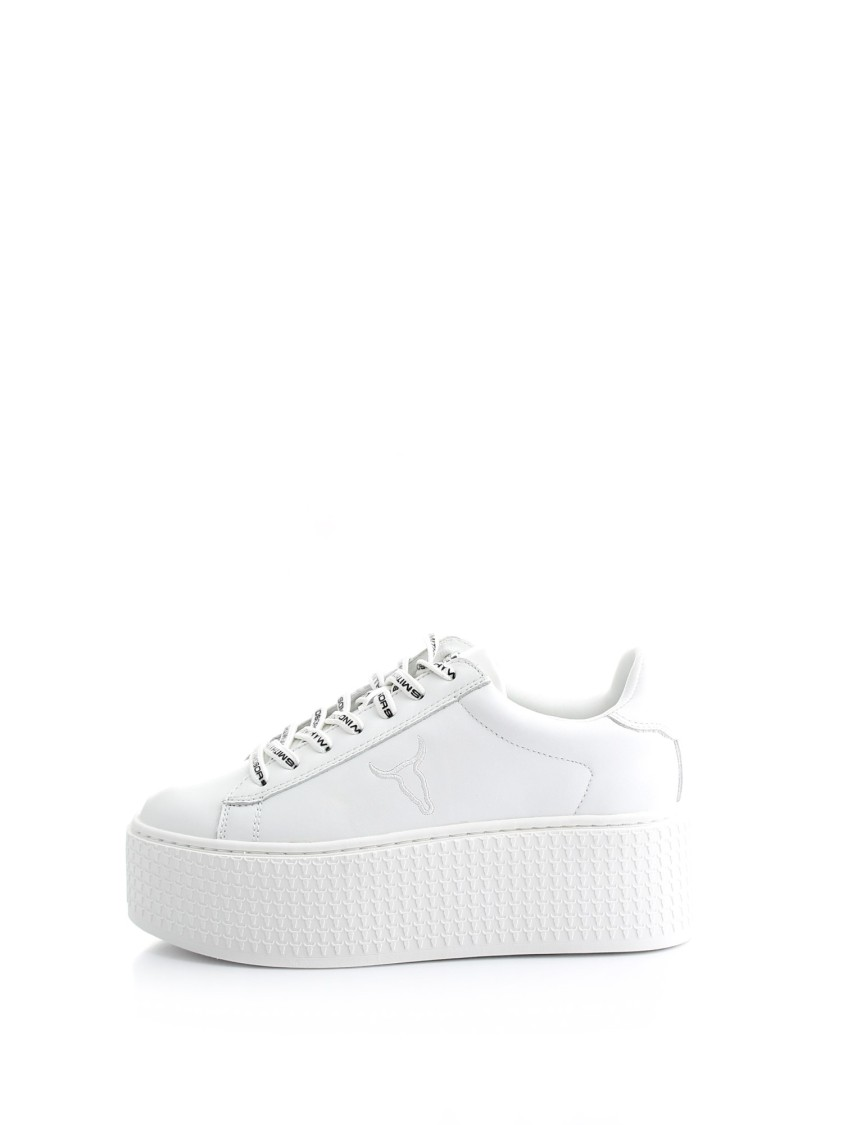 Windsor Smith SEOUL LEATHER SNEAKERS