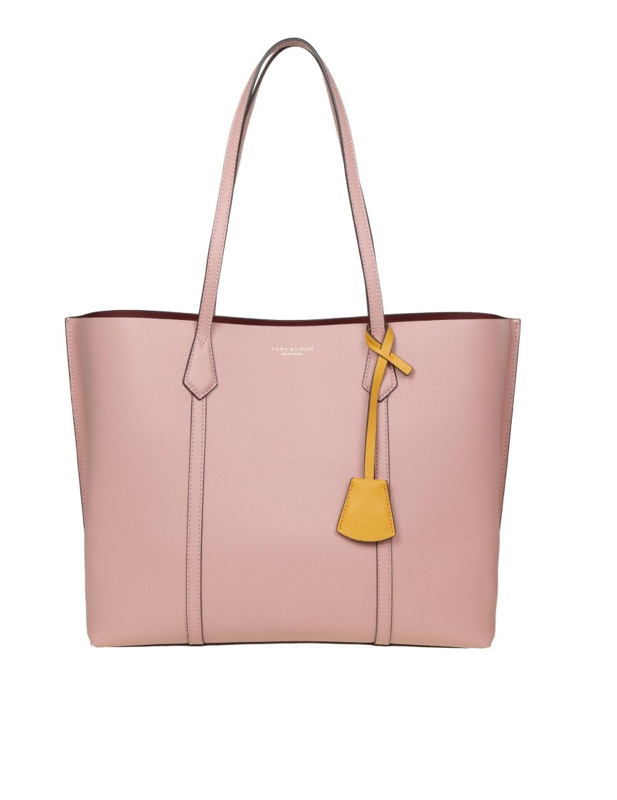 Tory Burch Women's Perry Leather Tote In Pink