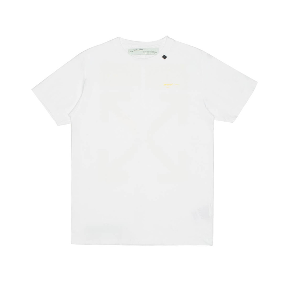 Off-White Acrylic Arrows T-Shirt In White