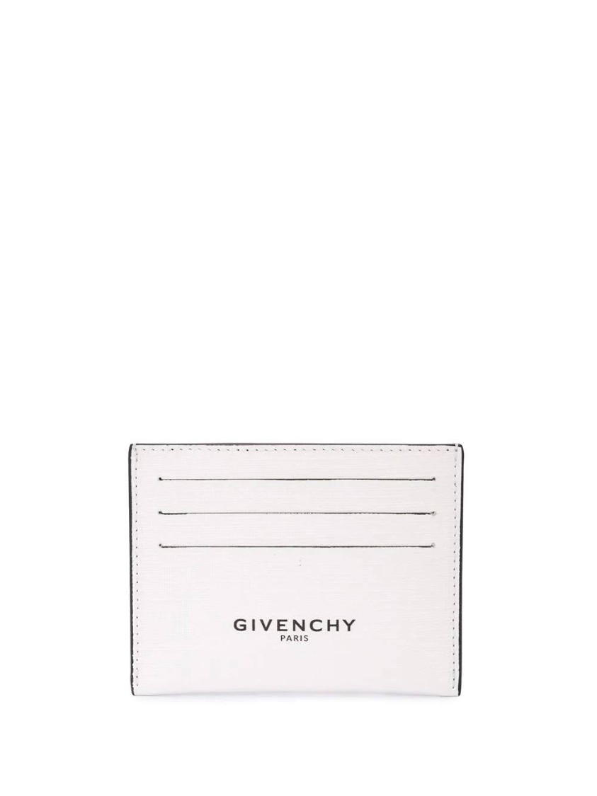 Givenchy White Men's Luminescent Card Holder