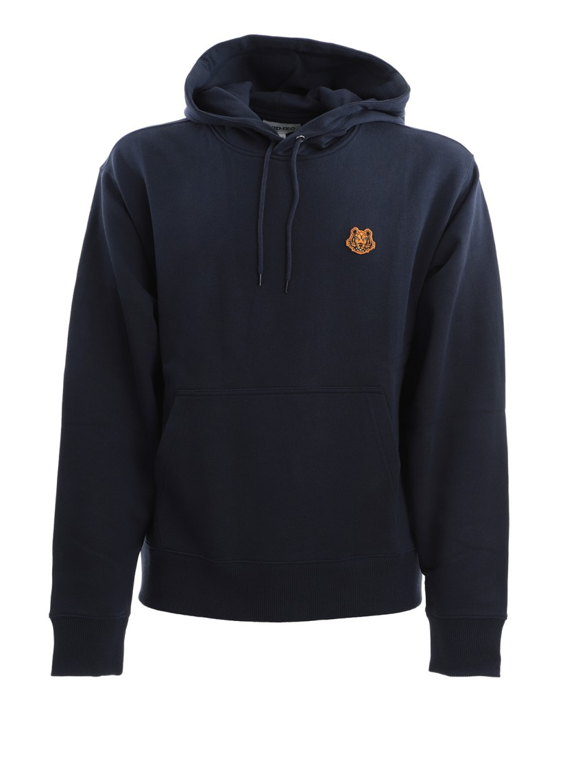 Kenzo Navy Blue Cotton Sweatshirt