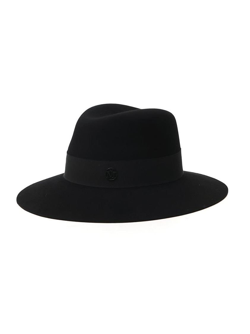 Maison Michel BLACK WOOL HAT