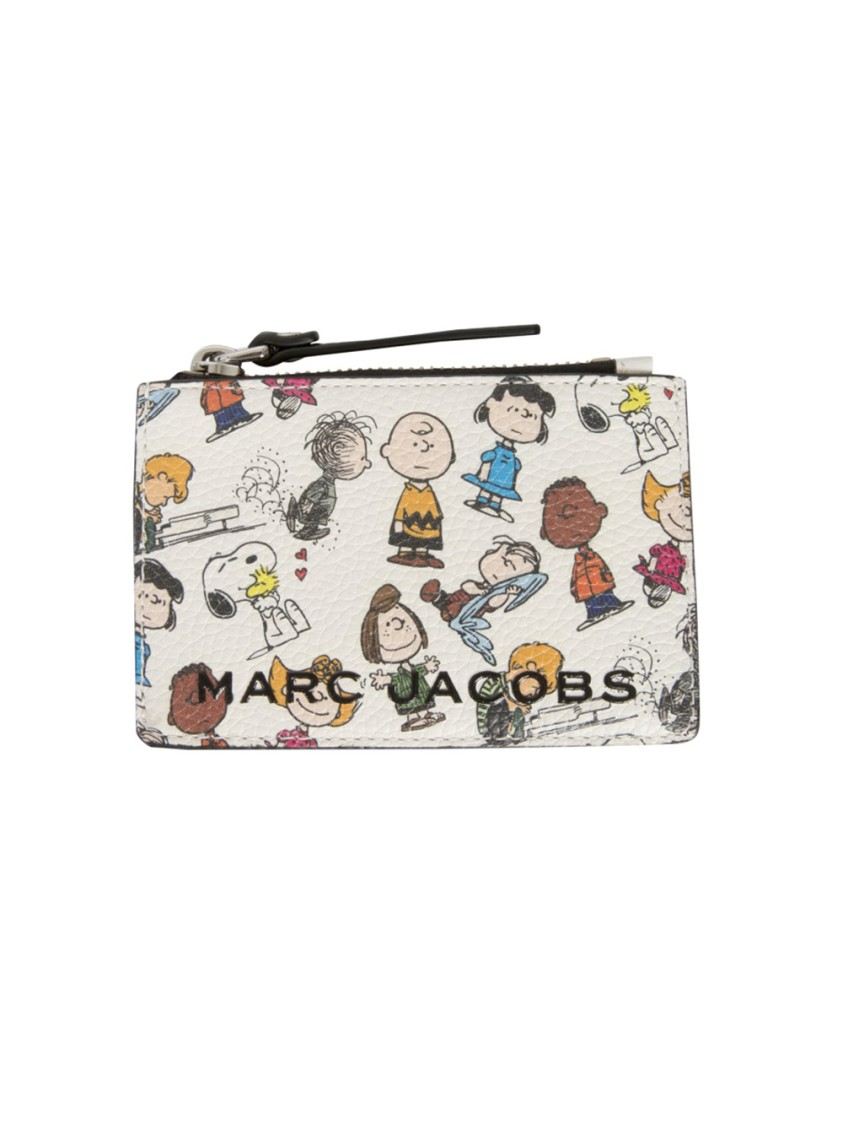 Marc Jacobs THE BOX MULTICOLOR LEATHER WALLET